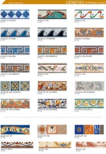 Macoifer muestra cobsa ceramica - Cenefas para azulejos ...